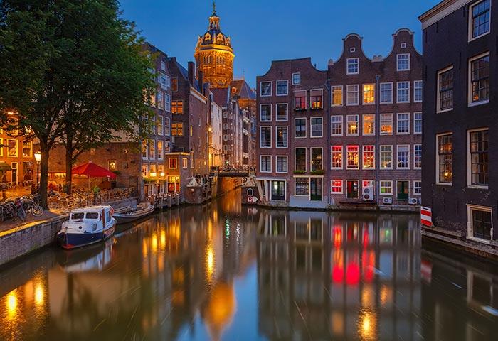 Themafeest Amsterdamse avond