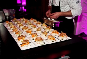 Walking dinner catering in amsterdam met bediening