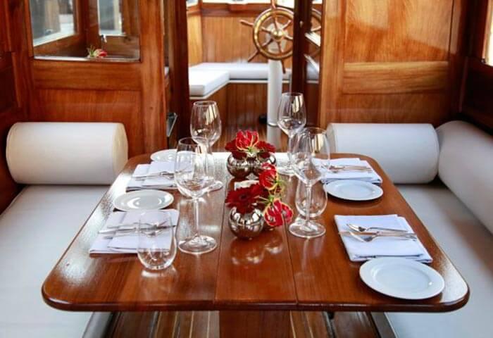 Dinervaart | dineren op het water | grachten Amsterdam