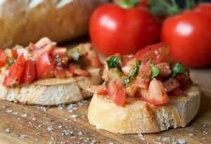 Sloepen huren met italiaans eten