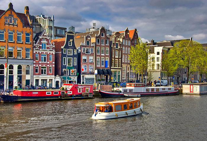 Lunchvaart Amsterdam