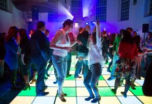 Feestavond Led dansvloer